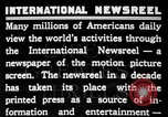 Image of newsreel editor United States USA, 1923, second 7 stock footage video 65675053000