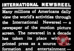 Image of newsreel editor United States USA, 1923, second 8 stock footage video 65675053000