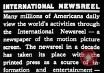 Image of newsreel editor United States USA, 1923, second 9 stock footage video 65675053000