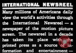 Image of newsreel editor United States USA, 1923, second 10 stock footage video 65675053000