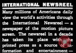 Image of newsreel editor United States USA, 1923, second 12 stock footage video 65675053000