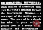 Image of newsreel editor United States USA, 1923, second 15 stock footage video 65675053000