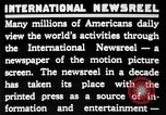 Image of newsreel editor United States USA, 1923, second 16 stock footage video 65675053000