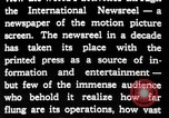 Image of newsreel editor United States USA, 1923, second 22 stock footage video 65675053000