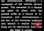 Image of newsreel editor United States USA, 1923, second 23 stock footage video 65675053000