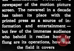 Image of newsreel editor United States USA, 1923, second 24 stock footage video 65675053000