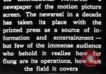 Image of newsreel editor United States USA, 1923, second 25 stock footage video 65675053000