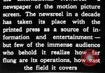 Image of newsreel editor United States USA, 1923, second 27 stock footage video 65675053000