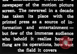 Image of newsreel editor United States USA, 1923, second 28 stock footage video 65675053000