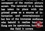 Image of newsreel editor United States USA, 1923, second 30 stock footage video 65675053000