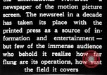 Image of newsreel editor United States USA, 1923, second 31 stock footage video 65675053000