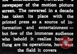 Image of newsreel editor United States USA, 1923, second 32 stock footage video 65675053000