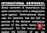 Image of newsreel editor United States USA, 1923, second 34 stock footage video 65675053000