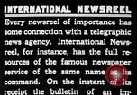 Image of newsreel editor United States USA, 1923, second 41 stock footage video 65675053000