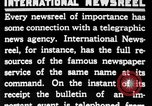 Image of newsreel editor United States USA, 1923, second 44 stock footage video 65675053000