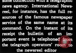 Image of newsreel editor United States USA, 1923, second 50 stock footage video 65675053000