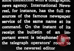 Image of newsreel editor United States USA, 1923, second 51 stock footage video 65675053000