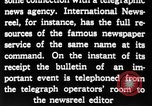 Image of newsreel editor United States USA, 1923, second 52 stock footage video 65675053000