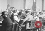 Image of newsreel editor United States USA, 1923, second 59 stock footage video 65675053000