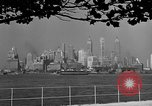 Image of skyline New York City USA, 1941, second 2 stock footage video 65675053009