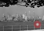 Image of skyline New York City USA, 1941, second 6 stock footage video 65675053009