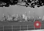 Image of skyline New York City USA, 1941, second 13 stock footage video 65675053009