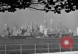 Image of skyline New York City USA, 1941, second 17 stock footage video 65675053009