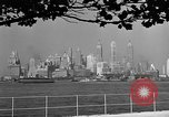 Image of skyline New York City USA, 1941, second 18 stock footage video 65675053009