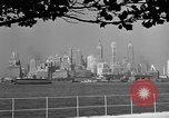 Image of skyline New York City USA, 1941, second 19 stock footage video 65675053009