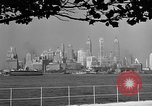 Image of skyline New York City USA, 1941, second 20 stock footage video 65675053009