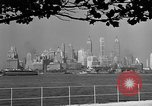 Image of skyline New York City USA, 1941, second 22 stock footage video 65675053009