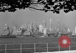 Image of skyline New York City USA, 1941, second 24 stock footage video 65675053009