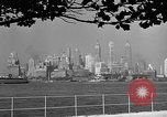 Image of skyline New York City USA, 1941, second 26 stock footage video 65675053009
