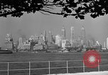 Image of skyline New York City USA, 1941, second 29 stock footage video 65675053009