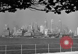 Image of skyline New York City USA, 1941, second 37 stock footage video 65675053009