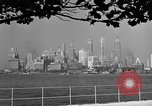 Image of skyline New York City USA, 1941, second 39 stock footage video 65675053009