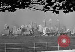 Image of skyline New York City USA, 1941, second 40 stock footage video 65675053009