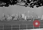 Image of skyline New York City USA, 1941, second 41 stock footage video 65675053009