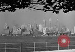Image of skyline New York City USA, 1941, second 43 stock footage video 65675053009