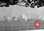 Image of skyline New York City USA, 1941, second 44 stock footage video 65675053009