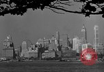 Image of skyline New York City USA, 1941, second 45 stock footage video 65675053009