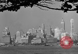 Image of skyline New York City USA, 1941, second 47 stock footage video 65675053009