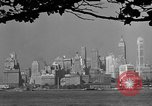 Image of skyline New York City USA, 1941, second 51 stock footage video 65675053009