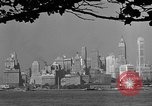 Image of skyline New York City USA, 1941, second 53 stock footage video 65675053009