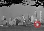 Image of skyline New York City USA, 1941, second 55 stock footage video 65675053009