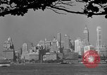 Image of skyline New York City USA, 1941, second 59 stock footage video 65675053009