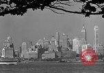 Image of skyline New York City USA, 1941, second 62 stock footage video 65675053009