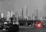 Image of skyline New York City USA, 1941, second 9 stock footage video 65675053010