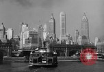 Image of skyline New York City USA, 1941, second 14 stock footage video 65675053010