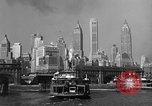 Image of skyline New York City USA, 1941, second 15 stock footage video 65675053010